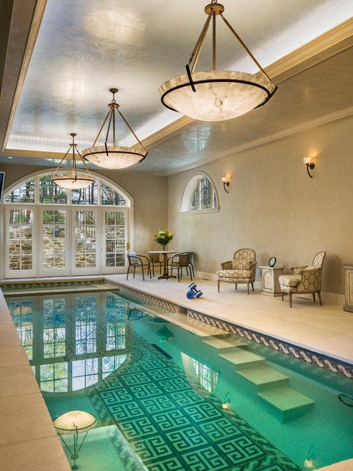 Indoor pool design  Small Indoor Pool Design Ideas, Remodels & Photos