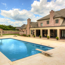 Traditional Pool by Stonecroft Homes