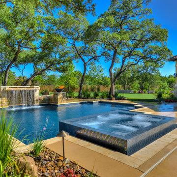 Straight Line Pool in Boerne Texas