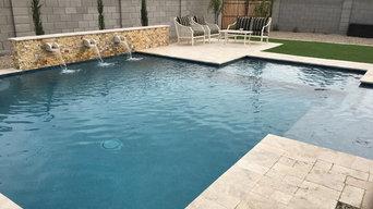 Straight Line Pools