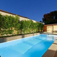Modern Pool by Formation Landscapes Pty Ltd