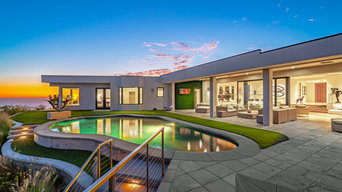 Stunning house with mega views in Pacific Palisades, CA.