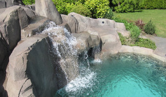 Stunning Vancouver backyard with Water Fall