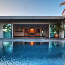 Contemporary Pool by Kym Rodger Design