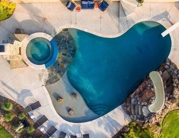 Suburban Large Freeform Pool