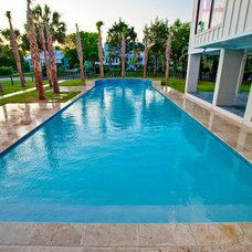 Modern Pool by Josh Atkinson - Atkinson Aquatech Pools and Spas