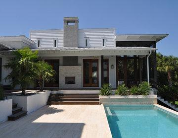 Sullivans Island Contemporary Beach House - Pool