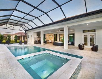 Summerland House Plan-Custom Design for Developer in Sarasota, Florida