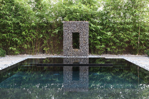 Contemporary Swimming Pool by Attanasio Landscape Architecture