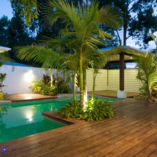 Tropical Pool by Skale Building Design