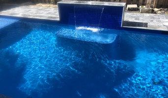 Sunrise residential pool