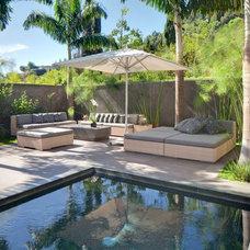Contemporary Pool by Environmental Design Studio