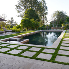 Mediterranean Pool by Sage Outdoor Designs