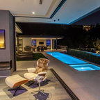 Pool Jets Modern Pool San Francisco By Christopher