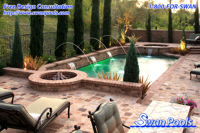 Mediterranean Pool by Swan Pools Southern California