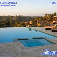 Modern Pool by Swan Pools Southern California