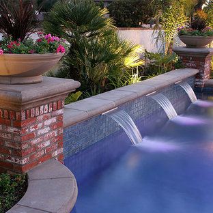 Swan Pools | Swimming Pool Company | Water Feature_Sheer Descent