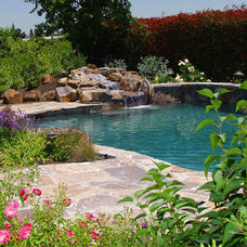 Traditional Pool by Swan Pools