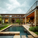 Trellis Pergolas Contemporary Pool Miami By