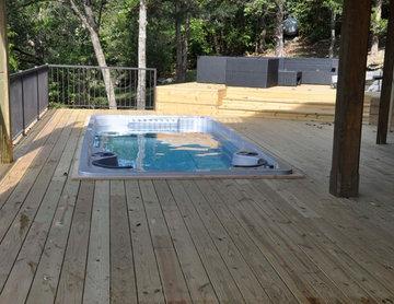 Swim Spa Built In