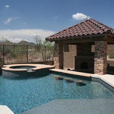 Tropical Pool by Unique Landscapes and Custom Pools