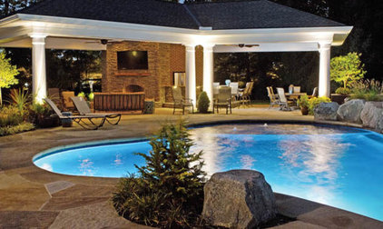 Traditional Pool by Housetrends Magazine