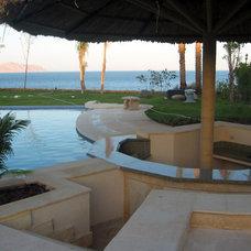 Mediterranean Pool by Rania Ramzi