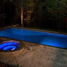 Contemporary Pool by Jones Pools