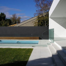 Contemporary Pool by Stevens Glass