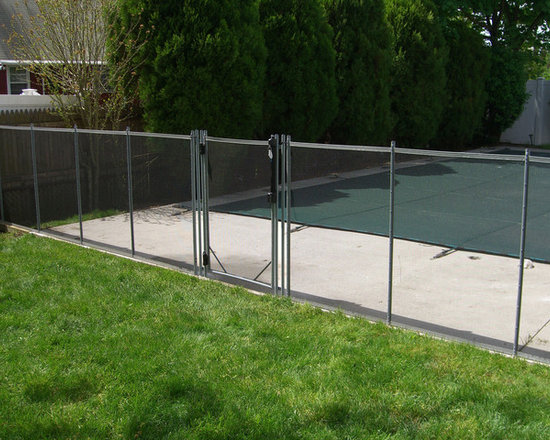 Removable Vinyl Fence removable pool fence | houzz