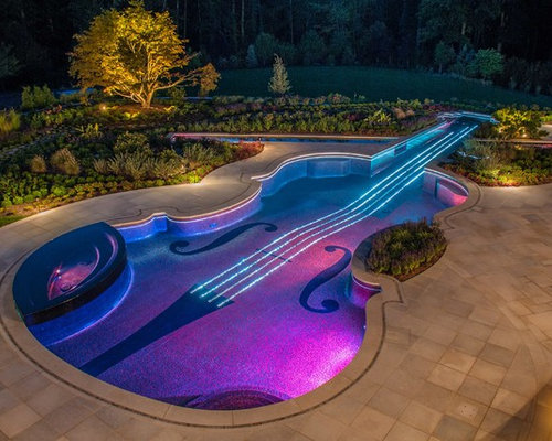 Swimming Pool Ideas glass swimming pool outdoor pool ideas Saveemail Cipriano Landscape Design Custom Swimming Pools