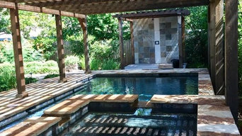 Swimming Pool Oasis With Custom Pergola