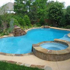Tropical Pool by Pleasant Pools Moore