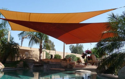 Shade Sails: Outdoor Rooms Take Wing