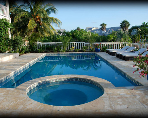 Waterline Pool Tile Ideas splendid glass tile for pool waterline with western rope border on scabos travertine mosaic tile Saveemail