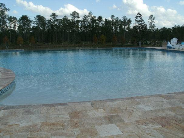 Modern Pool by Premier Pools, Spas & Waterfalls