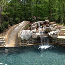 Traditional Pool by Georgia Classic Pool