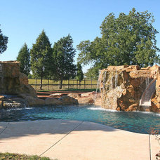 Tropical Pool by Outdoor Living Systems