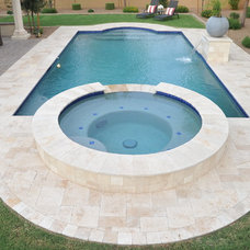 Traditional Pool by Alexon Design Group