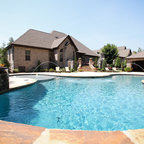 Stefani House Contemporary Pool Dallas By