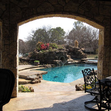 Traditional Pool by Reynolds Landscape and Pools