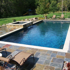 Traditional Pool by Banks Pool & Spa Design