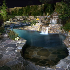 Eclectic Pool by Garden View