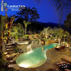 Tropical Pool by Garden View