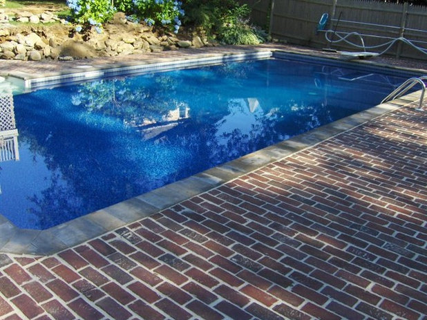 American Traditional Swimming Pool by M.J. Coleman & Sons