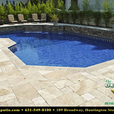 """Traditional Pool by Deck and Patio Company """"Outdoor Living Experts"""""""