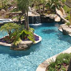 Modern Pool by Swink's Creations
