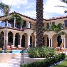 Mediterranean Pool by Urban Design South