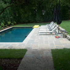 Pool by ARNOLD Masonry and Landscape