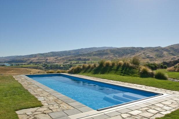 Modern Pool by Pisa Pools Central Otago